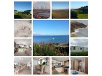 Platinum level 3 bed caravan on Hafan Y Mor, North Wales