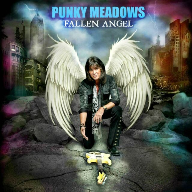 Punky Meadows - Fallen Angel CD 2016 Hard Rock ex Angel with Charlie Calv