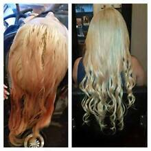 100% Russian REMY human hair extensions Chadstone Monash Area Preview