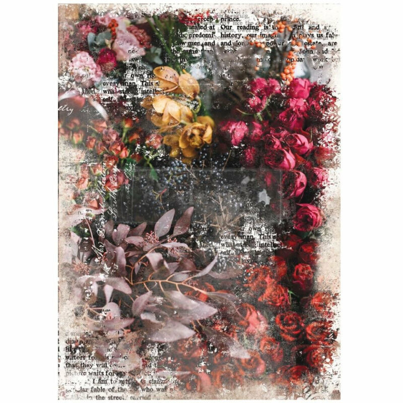 Iva decoupage paper by redesign with Prima!