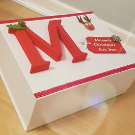 Beautiful Bespoke Christmas Eve Boxes for your little ones starting at £15
