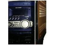 Stereo..Radio/CD/Cassette Player Recorder