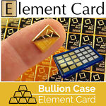 Bullion Case - Element Card Gold