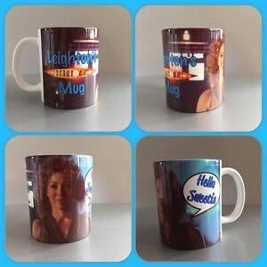 personalised mug cup Dr who tardis wife river songs hello sweetie cyberman dalek