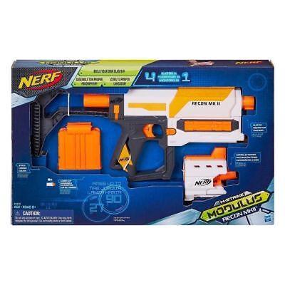 Nerf Modulus Recon MKII Blaster N-Strike BRAND NEW SEALED IN BOX Free Shipping!