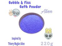Bubble & Fizz Bath Powder - Smells like Mugler, Alien