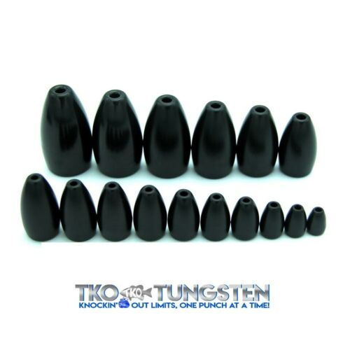 ***TKO Tungsten Flipping Weights (12 sizes, 3 Colors) FAST shipping***