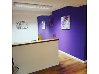 Hair and Beauty salon spaces to rent