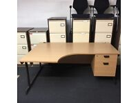Office used desks and chairs