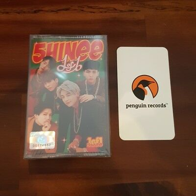 SHINEE - 1 OF 1 5th ALBUM CASSETTE TAPE LIMITED EDITION KOREA EDITION BRAND NEW