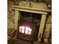Multifuel Stove - Log & Coal Burner