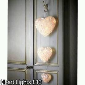Hanging Heart Lights