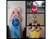 Mascot Parties/ ALL AREAS. Hired+Manned*Greater Manchester-West Yorkshire-Lancaster-Morecombe*