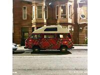 Tartan VW T25 Camper, High Top, 1986 ** MOT til Mar 2019 !! PRICE REDUCED !!