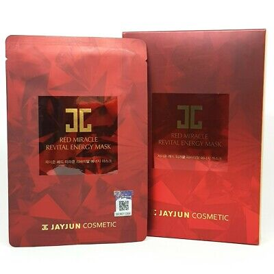 JAYJUN Red Miracle Revital Energy Mask Pack 18ml x 10ea Wrinkle Care K-Beauty