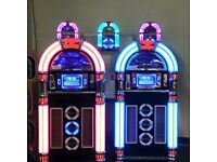 NEW WIFI, BLUETOOTH, COLOUR CHANGING JUKEBOX