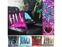 Mermaid cushions