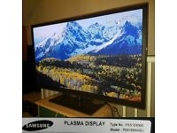 Samsung PS51E6500 51-inch Full HD Smart 3D Plasma Television with Freeview