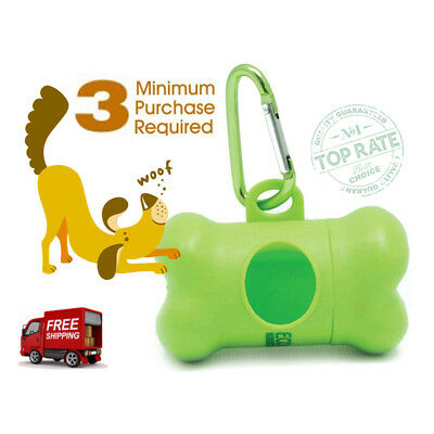 Dog Poopbags Dispenser Poop Bag Holder for Biodegradable EcoJeannie Poop Bags