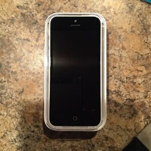 White iPhone 5C-8g with bell