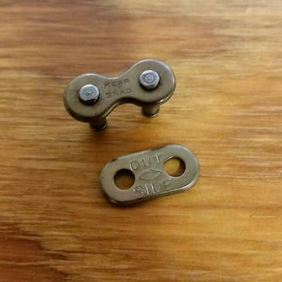SKIP TOOTH BICYCLE CHAIN MASTER LINK DIAMOND SNAP PRE WAR FI