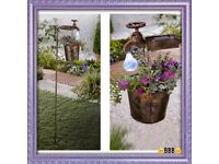 2 in 1 solar light and planter