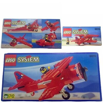 LEGO • 6615 • Eagle Stunt Flyer • 1996 • Airplane / Dragster • SEALED • NEW
