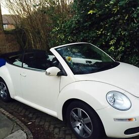 VW Beetle,Luna Cabriolet - only 1 careful lady owner! 54 plate
