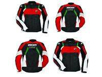 Tailor made Ducati motorbike racing leather jacket top quality cowhide leather