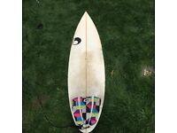 "Diplock Phoenix custom 6'2"" Surfboard"