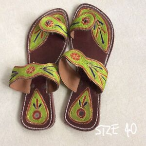 Indian leather sandals Machans Beach Cairns City Preview