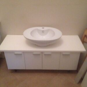 1400 vanity cabinet new Springwood Blue Mountains Preview