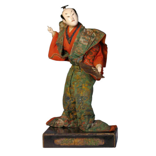 Early Japanese Kabuki Actor Takeda Ningyo