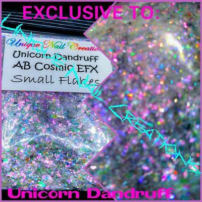 AB Cosmic EFX Flakes~UNICORN DANDRUFF~Nail•Acrylic•Gel•Body Art•Face•Festival
