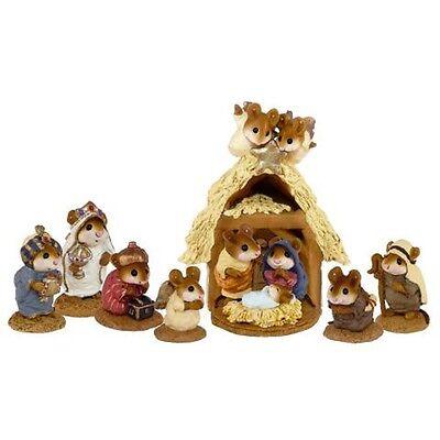Wee Forest Folk Nativity Scene - Complete Set of 8 - Version A
