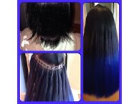 HAIR EXTENSIONS - LA WEAVE/MICRO RING/NANO/SHRINKIES/COLD FUSION/EASELOKS - QUALIFIED & INSURED!