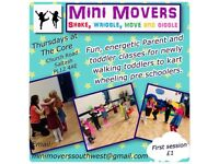 Movement based baby/toddler classes