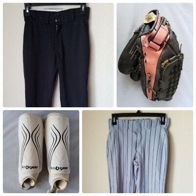 "Mizuno Prospect Series 12"" Glove Mitt Youth Kids Baseball Gear Pants Shin Guards"