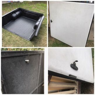 Nissan Navara D22 Tuff lid and tub liner