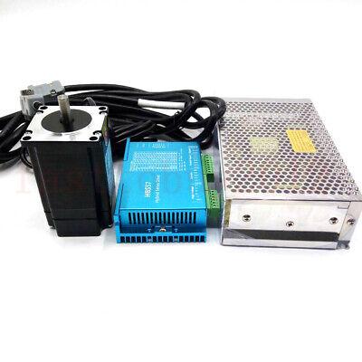 3nm Nema23 Closed-loop Stepper Motor Hybrid Servo Driver 200w Power Supply Kit