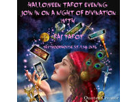 tarot halloween reading live............
