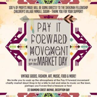Pay It Forward Market Weekend Deception Bay Caboolture Area Preview