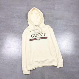 Cotton Gucci Sweatshirt Cream