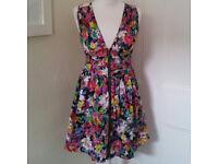 Pretty little floral dress UK size 10