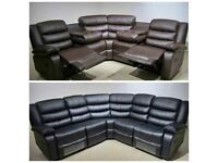 CLOSEOUT SALE BRAND NEW RECLINER 3+2 AND CORNER SOFA