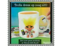 Troll dress up mug
