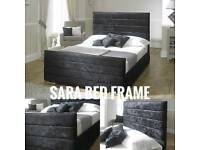 Sara Bed Frame Various Colours & Sizes At Amazing Prices!