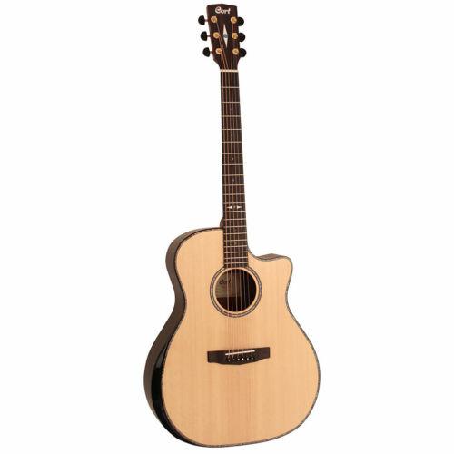 Cort Grand Regal GA-PF Bevel Natural Finish Acoustic Guitar