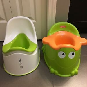 Potty seats 2 for $10 together