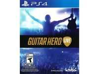 GUITAR HERO LIVE + 1 CONTROLLER